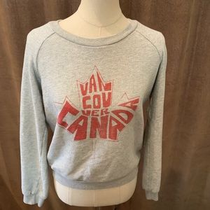 Gray Vancouver Canada Sweater